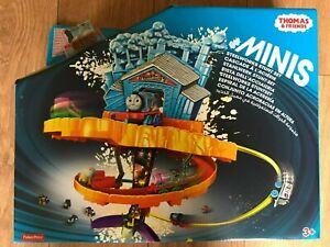 Thomas & Friends Minis Steelworks Stunt Set by Fisher Price ~ Brand New ~