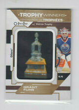 20/21 OPC Edmonton Oilers Grant Fuhr Trophy Winners Manufactured Patch #P-64