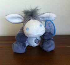 "Me To You My Blue Nose Friends Sugarcube Donkey Soft Plush Toy Small 4""  No. 34"