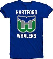 Hartford Whalers DEFUNCT NHL Ice Hockey Tee T-SHIRT handmade team sports men's