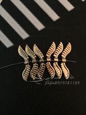 PJ306/ 15pc Tibetan Gold Bead Charms Angel wings Jewelry Findings Wholesale