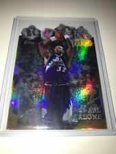 Panini Refractor Karl Malone Basketball Trading Cards