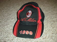 AC Milan red & black adjustable hat cap 1899 soccer futbol