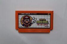 Famicom-Famiclone Super Mario The Lost Levels 60 pin 8 Bit Video game