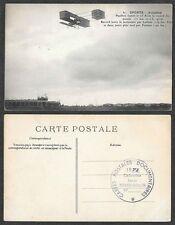 Old Aviation Postcard - France, Airplane - Aviator Paulhan