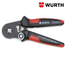 Pinza crimpatrice con inserimento laterale 0 08-16mm - Würth 0714107162