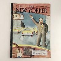 The New Yorker January 17 2000 Full Magazine Theme Cover by Barry Blitt