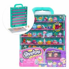 New Shopkins Season 5 Collector's Display Case w/ 2 Exclusive Figures Official