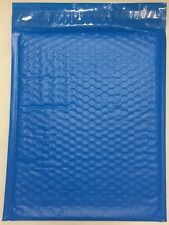 "Blue Color Poly Bubble Mailers Padded Self Seal #2 8.25 x 11"" QTY 300 Envelopes"
