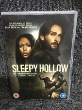 Sleepy Hollow Complete 1st Season 1. Dvd Box Set, Freepost In Uk. Vgc.