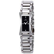 New Eterna Sahida Ladies Watch with Diamond Dial Stainless Steel case Swiss Made