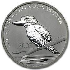 2007 Australia 1 oz Silver Kookaburra (mintage of only 213,436)