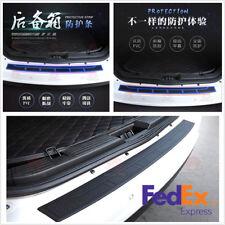 90x8cm Black Strip Car Rear Bumper Cover Protector Trunk Sill Scuff Plate Guard