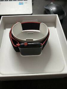 apple watch series 3 42mm sp Black Stainless steel Gps + Cellular