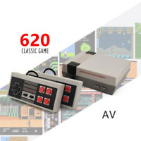 Classic Mini Game Consoles Built-in 620 TV Video Game Compatible with NES