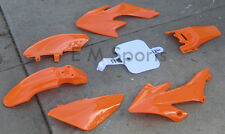 Dirt Pit Bike Fairing Body 49cc For BAJA Motorsports Dirt Runner 49 DR50 Orange