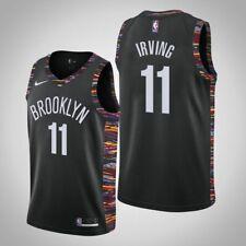 NBA Kyrie Irving  #11 Brooklyn Nets Basketball Jersey White Black