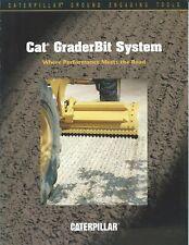 Equipment Brochure - Caterpillar Grader Bit System Ground Engaging Tools (E5040)
