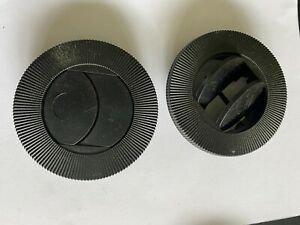 """2 COYOTE  76mm 4""""  SNAP IN AIR VENT LOUVER HVAC CAB INTERIOR BOAT TRUCK PLANT"""
