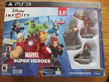 Disney's Infinity MARVEL SUPER HEROES~2.0 Starter Pack for PS3~New in Box