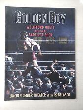 2013 - Belasco Theatre Souvenir Program - Golden Boy