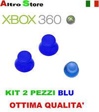 JOYSTICK ANALOGICO CONTROLLER JOYPAD THUMBSTICKS XBOX 360 BLU RICAMBIO GIOCO