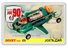DINKY JOE 90 - 102 JOE'S CAR  BOX ARTWORK NEW JUMBO FRIDGE LOCKER MAGNET