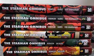 Starman Omnibus vol 1,2,3,4,5,6 complete collection rare OOP hardcover set