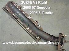 2005-06 Toyota Tundra Sequoia Exhaust Manifold V8 Right 2UZFE 4.7L 1710450200 ,