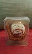 Lou Gehrig-Cal Ripken Jr Commemorative Photo Signature RP Baseball In Mini Glove