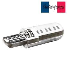 2 Veilleuses LED W5W T10 étanche Canbus ANTI ERREUR BLANC XENON 6000k