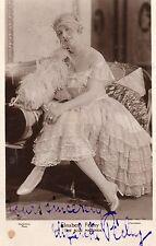 VINTAGE POSTCARD.ACTRESS ELISABETH PECHY HAND SIGNED INK PHOTO GUTTENBERG RP