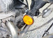 CLASSIC HONDA CB450T - REPLACEMENT REFLECTOR AND CABLE TIDY BRACKET #FREE POST#