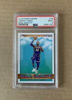 2019 LeBron James Panini NBA Hoops Zero Gravity PSA 9 - Lakers