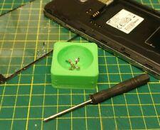 Tazón de fuente titular de Tornillo Magnético Teléfono Móvil Pantalla reparación reemplazar Kit Tablet Azul
