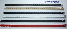 2 FT Leather Straps Set 2,0 CM Wide Length From 18,0 To 70,0 IN 6 Colors Wow