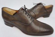 Santoni Oxfords Leather Upper Dress Shoes for Men