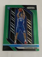 2018-19 Panini Prizm Prizms Green #199 Landry Shamet RC Rookie 76ers Clippers