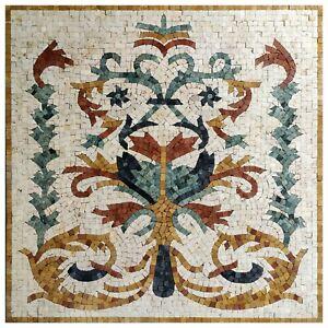 Signature mosaic marble banquet handmade art home inlay walls floors tabletops