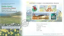 GB 2009 FDC Celebrating Wales St Davids Postmark