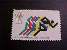 Scott# 1462 Olympics - Foot Racing Unused OGNH
