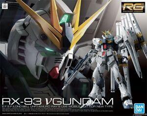 BANDAI RG 1/144 RX-93 Nu v GUNDAM Char's Counterattack Kit AU STOCK #32