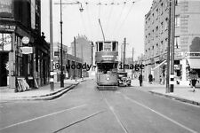 a0416 - London Tram no 906 to West India Dock - photograph