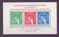 Berlin 1949 - Block 1 - Währungsgeschädigte postfrisch**- Michel 950,00 € (496)