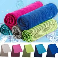 Utility Enduring Instant Cooler Towel Heat Relief Reusable Cool Towels For Adult