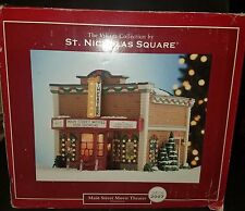 THE VILLAGE COLLECTION by ST. NICHOLAS SQUARE. MAIN STREET MOVIE THEATER 2007