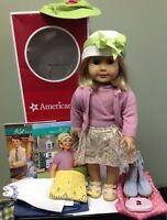 American Girl Doll 1934 Kit Kittredge With Meet Outfit Accessories and books