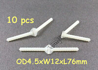 Φ2.5 X L48mm 157: 10x Nylon Pivot Hinges Parts for RC Airplane Pin