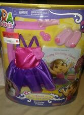 DORA THE EXPLORER Dress Up Collection Dora Doll Clothes