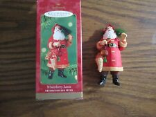 Hallmark Keepsake Winterberry Santa ornament in box